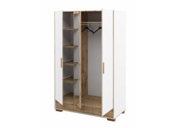 Шкаф для одежды трехстворчатый Сканди МН-036-33