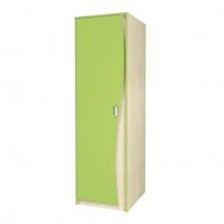 Одностворчатый детский шкаф для одежды со штангой Комби МН-211-15