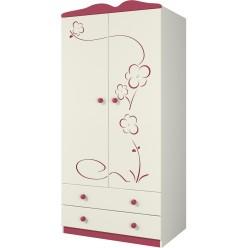 Детский шкаф Сакура Ш90-2Д0 от Мебель-Неман