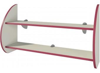 Настенная полка для книг Сакура П-2Д0 от Мебель-Неман