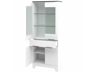 Шкаф-витрина комбинированный двустворчатый Верона МН-128-11