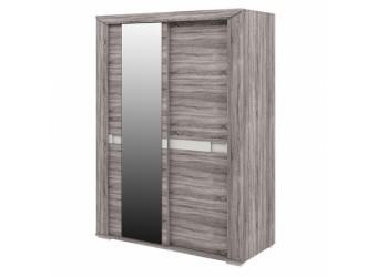 Шкаф купе для одежды с зеркалом Кристалл МН-131-03