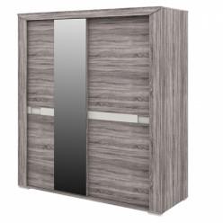 Шкаф купе для одежды с зеркалом Кристалл МН-131-04
