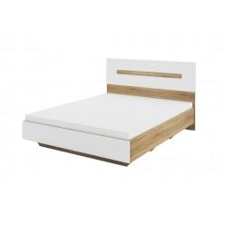 Двуспальная кровать без подъемного механизма Леонардо МН-026-10