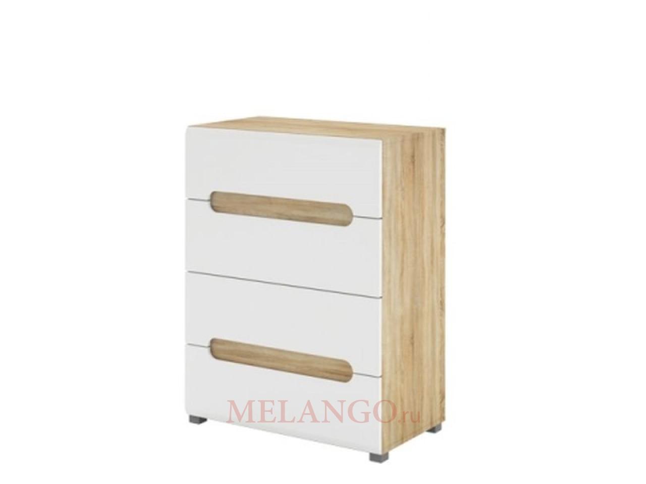 Бельевой комод для спальни Леонардо МН-026-07