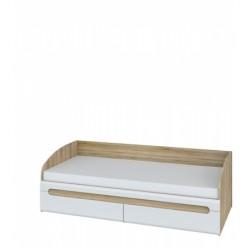 Односпальная кровать с 2-мя ящиками Леонардо МН-026-12