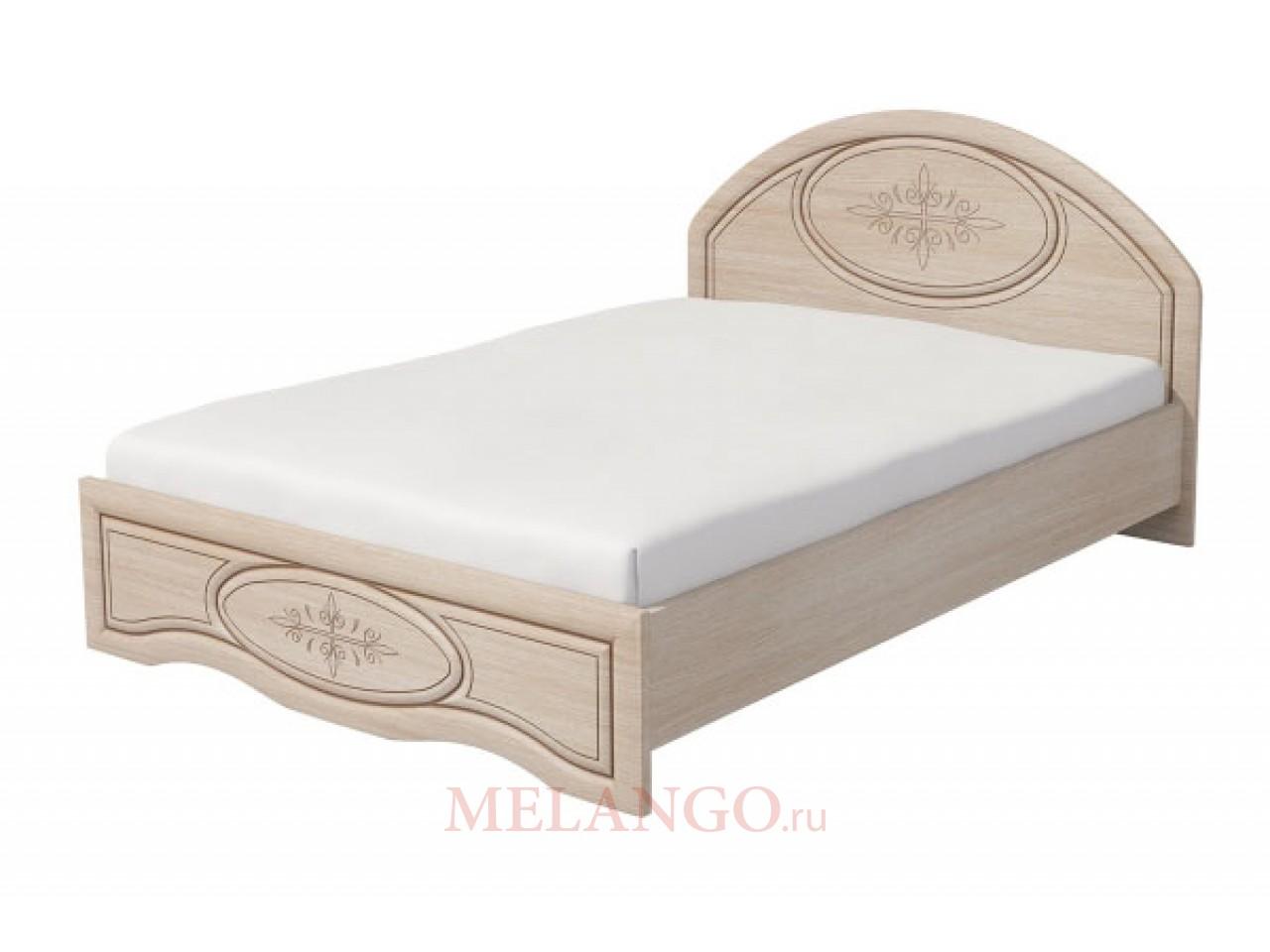 Двуспальная кровать Василиса К1-140