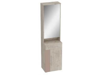 Тумба с зеркалом Фан для прихожей