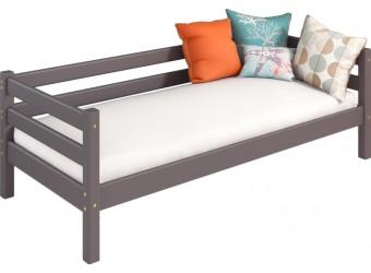 Кровать Соня Лаванда вариант 2 с защитой