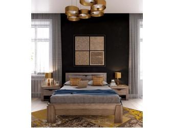 Двуспальная кровать Соренто Дуб Стирлинг