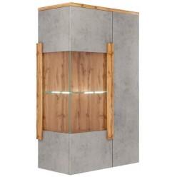 Шкаф-витрина навесной Римини 2002