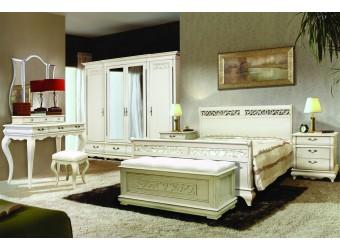 Спальня Оскар (белая эмаль)