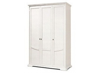 Шкаф для одежды Лика ММ-137-01/03Б (белая эмаль)