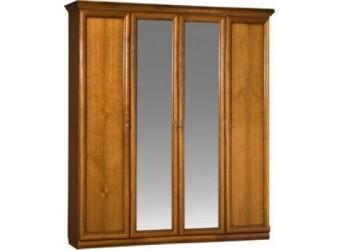 Шкаф для одежды Нинель ММ-167-01/04 (табак+тп)