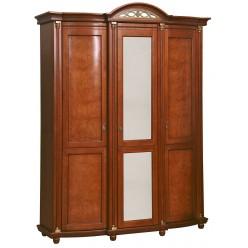 Шкаф для одежды «Валенсия 3» П254.10 (каштан)
