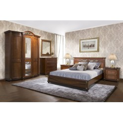 Спальня «Валенсия» 2 (каштан)