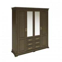 Шкаф «Верди Люкс» П434.01 (венге)