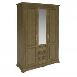 Шкаф «Верди Люкс» П434.10 (лесной орех)