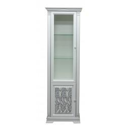 """Шкаф с витриной """"Мартина 1.1 3D"""" П573.01-1 3D"""