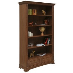 Книжный шкаф «Пьемонт» П518.18 (табак)