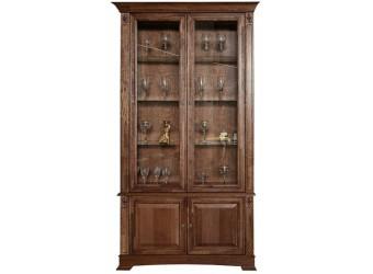 Шкаф-витрина «Пьемонт» П518.20 (табак)