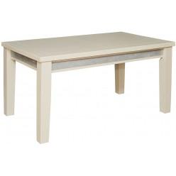 Обеденный стол «Тунис 1РД» П352.04 (слоновая кость с серебром)