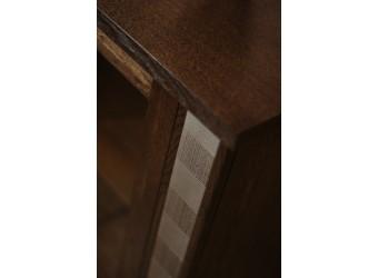 Стол письменный «Тунис» П343.08Ш (венге с серебром)