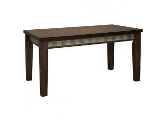 Обеденный стол «Тунис 1Р» П352.02 (венге с серебром)