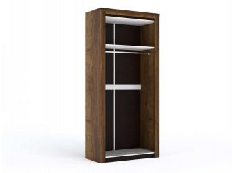 Двухстворчатый шкаф для одежды Г-10 (ДГТ) Гарда