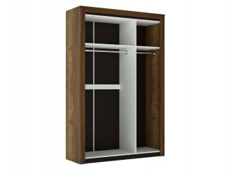 Трехстворчатый шкаф для одежды Г-11 (ДГТ) Гарда с зеркалом