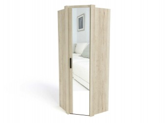 Угловой шкаф для одежды СМ-14 Мале с зеркалом