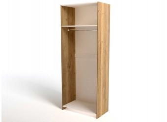 Двухстворчатый шкаф для одежды СС-11 Стреза с зеркалом