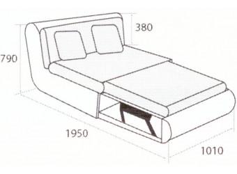 Модуль дивана Kormak (Кормак) 100Д