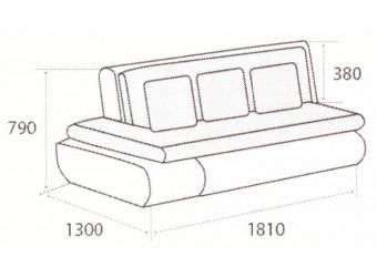Модуль дивана Kormak (Кормак) 180Н левый от Сола-М