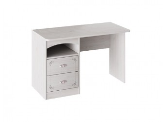 Письменный стол с 2-мя ящиками «Ариэль» (Лиственница Сибиу с рисунком) ТД-280.15.02