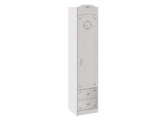 Шкаф комбинированный для белья «Ариэль» (Лиственница Сибиу с рисунком) ТД-280.07.21