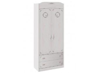 Шкаф комбинированный для одежды «Ариэль» (Лиственница Сибиу с рисунком) ТД-280.07.22
