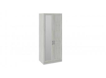 Шкаф для одежды с 1 глухой и 1 зеркальной дверью правый «Кантри» (Винтерберг) СМ-308.07.021R