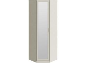 Шкаф угловой с зеркальной дверью «Лючия» (Штрихлак) СМ-235.23.02