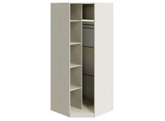 Шкаф угловой с 1-ой зеркальной дверью «Лючия» (Штрихлак) СМ-235.07.07