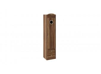 Шкаф комбинированный для белья с иллюминатором «Навигатор» (Дуб Каньон) СМ-250.07.21