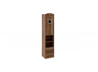 Шкаф комбинированный с иллюминатором «Навигатор» (Дуб Каньон) СМ-250.07.20