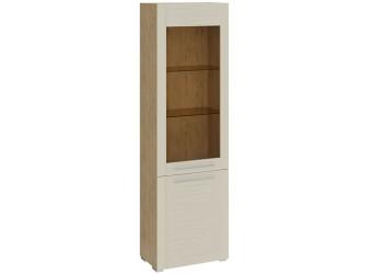 Шкаф для посуды с 2 дверями «Николь» (Бунратти/Фон Бежевый) ТД-296.07.25