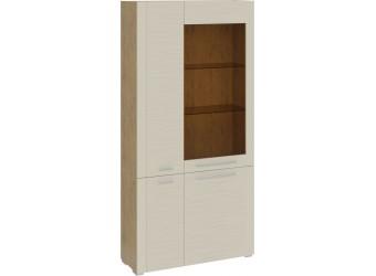 Шкаф комбинированный с 4 дверями «Николь» (Бунратти/Фон Бежевый) ТД-296.07.37