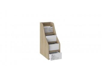 Набор детской мебели «Оксфорд» 1 (Ривьера/Белый с рисунком) ГН-139.001