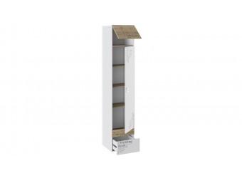 Шкаф для белья «Оксфорд» (Ривьера/Белый с рисунком) ТД-139.07.21