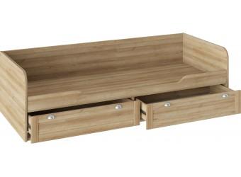 Кровать с 2-мя ящиками «Ривьера» (Дуб Ривьера) ТД-241.12.01