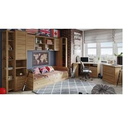 Набор детской мебели «Ривьера»  (Дуб Ривьера) ГН-241.107