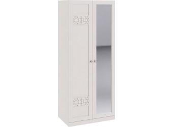 Шкаф для одежды с 1-ой глухой и 1-ой зеркальной дверями «Саванна» СМ-234.07.05