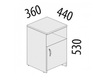 Тумба Альфа 62.44